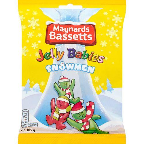 JELLY BABY SNOWMEN