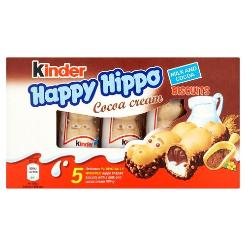 KINDER COCOA HAPPY HIPPOS 5 PACK