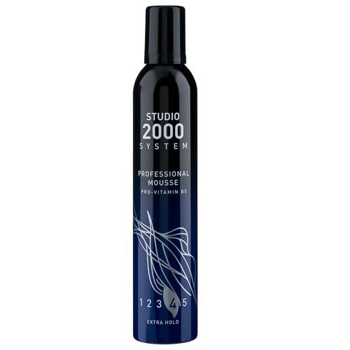 STUDIO 2000 EXTRA HOLD STYLING MOUSSE 400ML