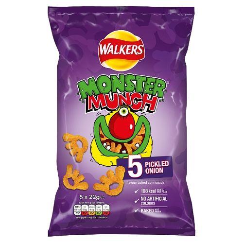 Monster Munch Pickled Onion 5x22g