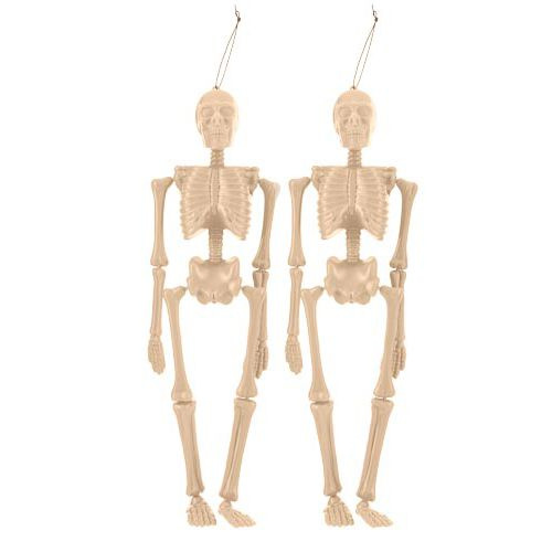 TWIN PACK HANGING SKELETON