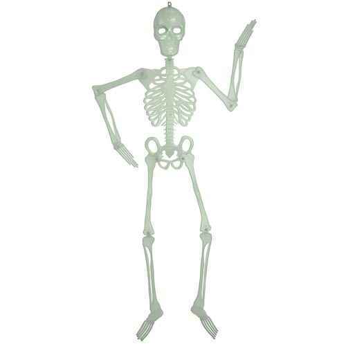 4FT GLOW IN DARK SKELETON