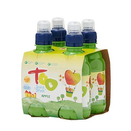 Too Apple Juice Drink 250ml 4 Pack