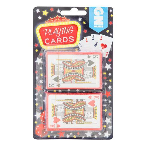 Plastic Playing Cards 2 Pack