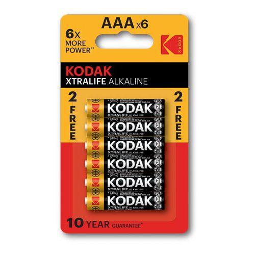 Kodak Xtralife Battery Aaa 4+2