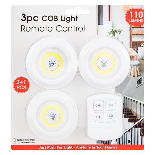 Cob Light Remote Control 3 Pack