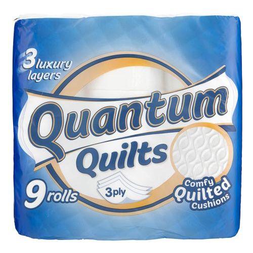 Quantum Quilts Toilet Tissue Standard 9pk