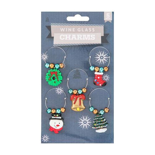WINE CHARMS 5 PACK