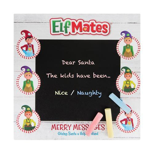 ELF MATES CHALK BOARD