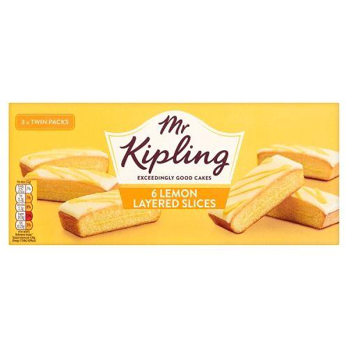 Mr Kipling Lemon Slices 6 Pack
