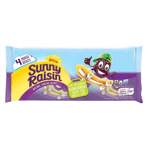 4PK WHITWORTHS SUNNY RAISINS