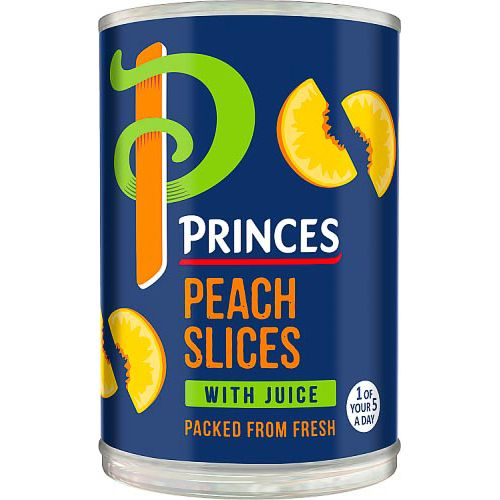 PRINCES PEACH SLICES 410G