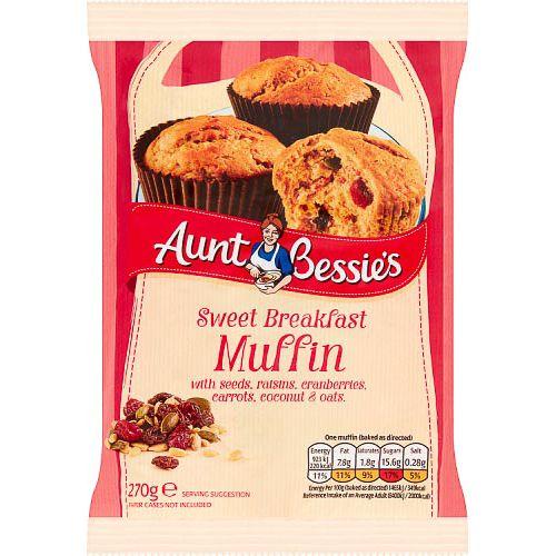 AUNT BESSIES MUFFIN 270G