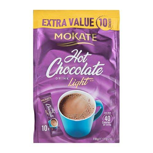 MOKATE LIGHT HOT CHOCOLATE 10 PACK