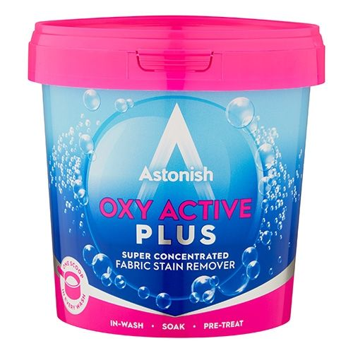 ASTONISH OXY ACTIVE PLUS STAIN REMOVER POWDER 500G