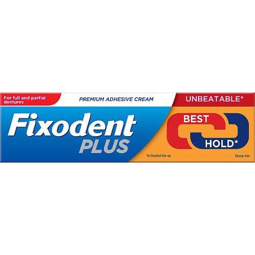 Fixodent Plus Best Hold Premium Denture Adhesive