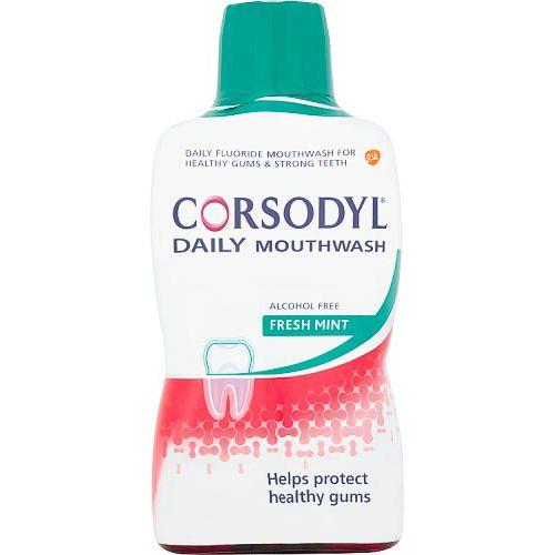Corsodyl Gum Care Mouthwash Alcohol Free 500ml