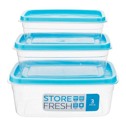 Nested Food Container 3 Pack