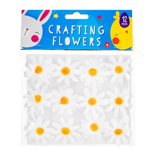 DAISY CRAFTING FLOWERS 12 PACK