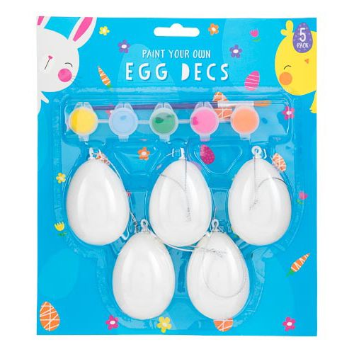 Paint Your Own Egg Set 5 Pack