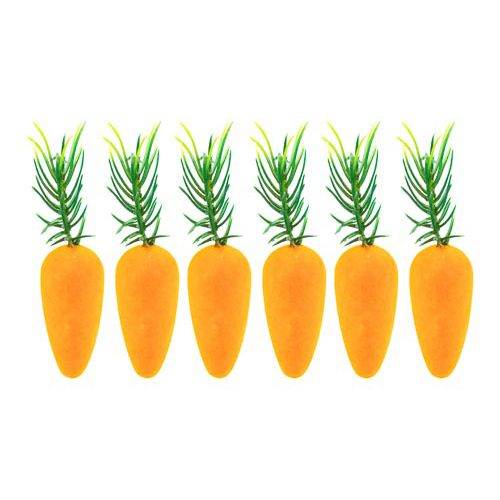 Carrot Decorations 6pk