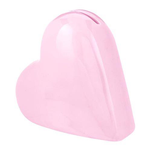 CERAMIC HEART MONEY BOX