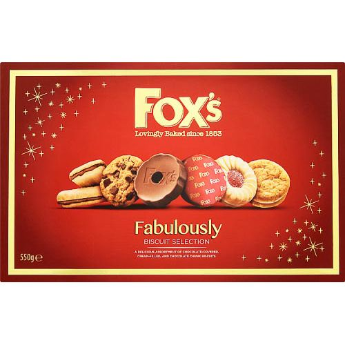Fox Fabulously Tin 550g