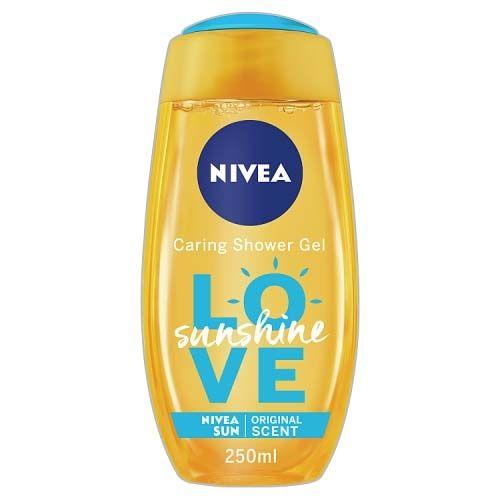 NIVEA CARING SHOWER GEL SUNSHINE LOVE 250ML