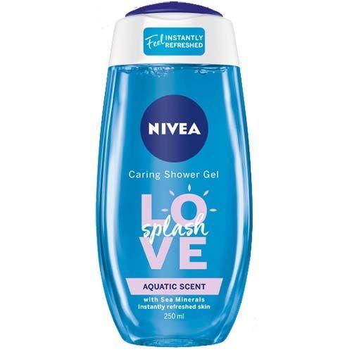 NIVEA SHOWER GEL LOVE SPLASH 250ML
