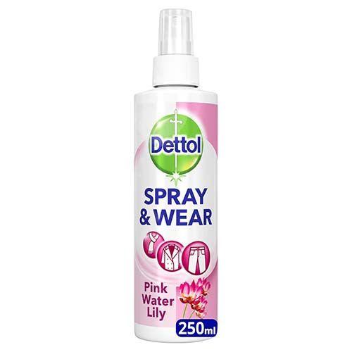 Dettol Waterlilly Spray & Wear 250ml