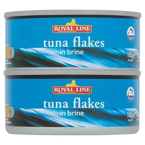 Royal Tunaflakes Brine 2 Pack