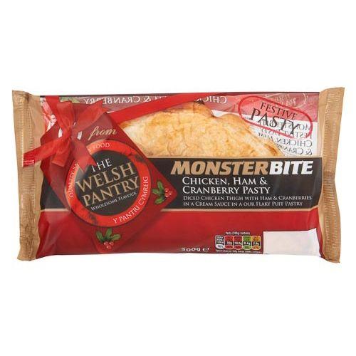 Welsh Pantry Monsterbite Festive Pasty 300g