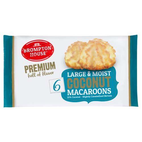 Brompton MacAroons 6pk 200g
