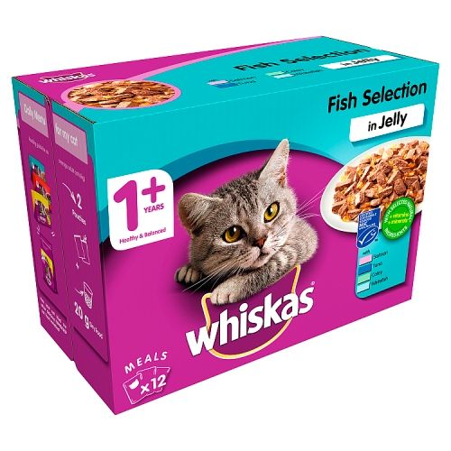 Whiskas Fish Selection 12 Pack