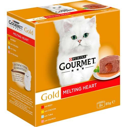 Gourmet Gold Cat Food Food Meat and Fish 8 Pack