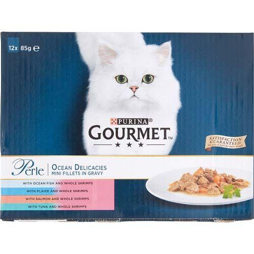 Gourmet Perle Pouches Ocean Delicious 12x85g