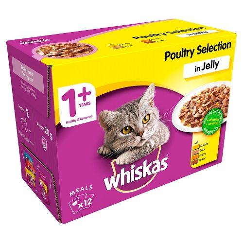 Whiskas Poultry Selection 12 Pack
