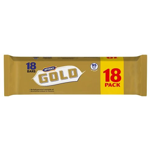 McVities Gold Bars 18 Pack