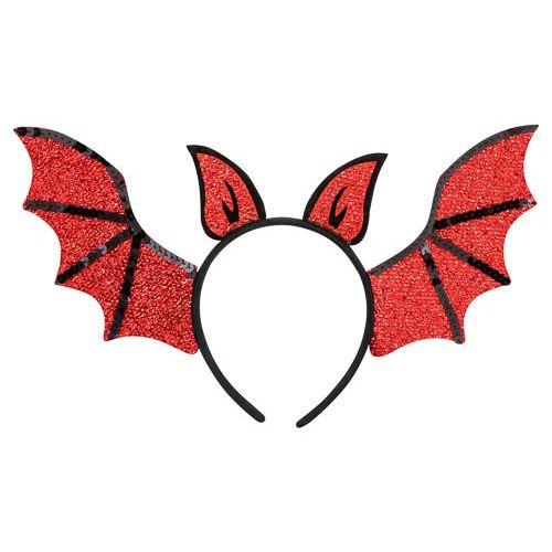 Red Bat Headband