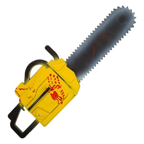 Yellow Chainsaw Weapon