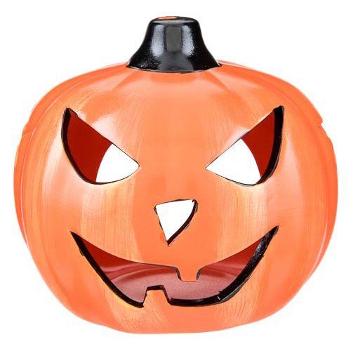 Pumpkin Ceramic Tea Light Holder