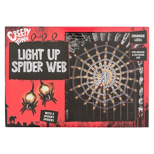 Outdoor Led Spider Web