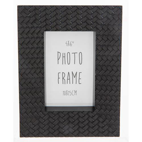 Photo Frame 6x4 Woven