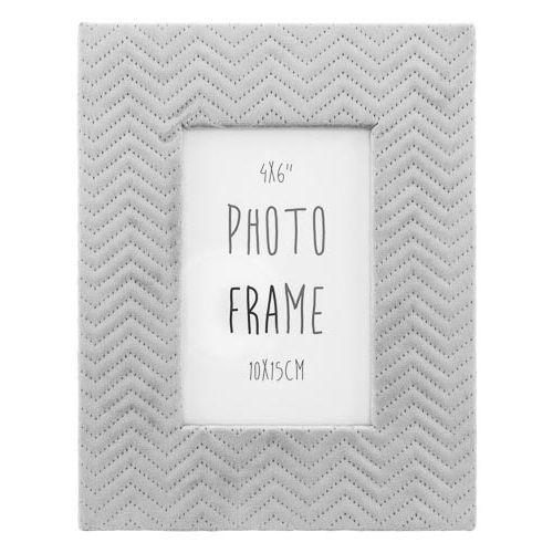 "Suede Photo Frame 6x4"""