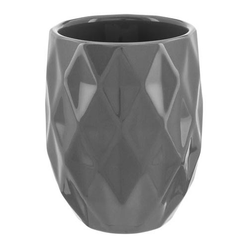 Ceramic Geometric Toothbrush Holder