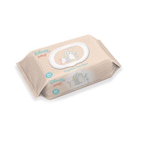 Disney Baby Fragrance Free Wipes  80 Pack