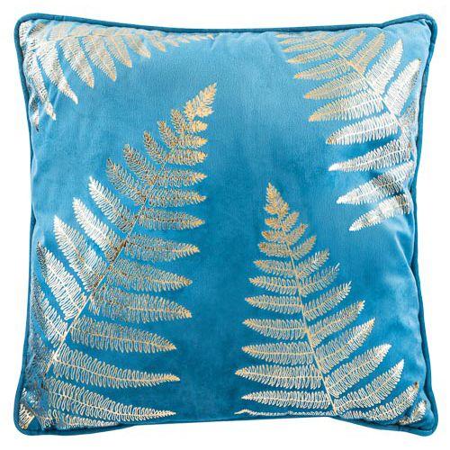 Blue Printed Cushion 43x43cm