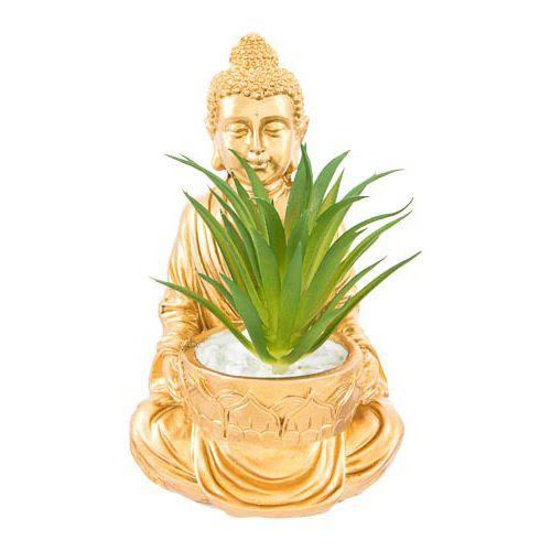 Buddha & Elephant With Succulent