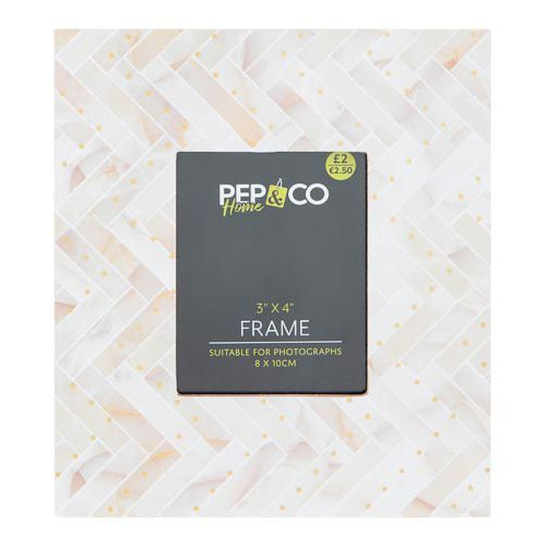 """Photo Frame 3x4"""" Wooden Look"""
