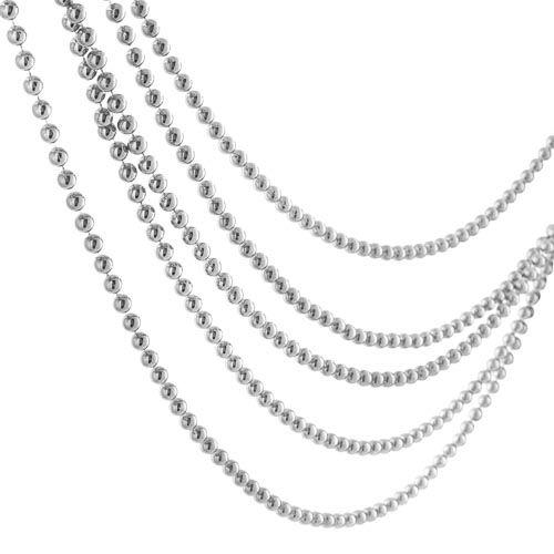 Bead Garland Silver 6m
